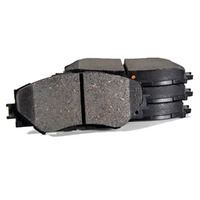 GENUINE TOYOTA CAMRY & AURION  FRONT BRAKE PADS 0446506090 JUNE 2006 ON image
