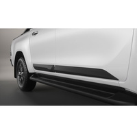 GENUINE TOYOTA HILUX DOUBLE CAB BODY SIDE MOULDING BLACK PC1700K006 AUGUST 2017 image