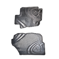 Genuine Toyota RAV4 Front All Weather Rubber Floor Mat Set image