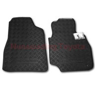 NEW GENUINE TOYOTA LANDCRUISER 100 SERIES FLOOR MATS FRONT PAIR RUBBER 1998-2007 image