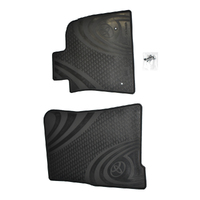 Genuine Toyota Landcruiser 200 Series Front Rubber Floor Mats 07-01/12 image