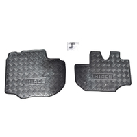 Genuine Hiace Rubber Front Floor Mats SLWB Commuter 1/05- On image