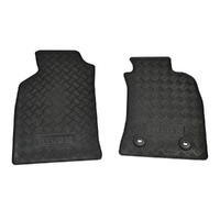 Genuine Toyota Hilux Rubber Front Floor Mats Set 2011 - 2015 image
