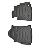 Genuine Toyota Hilux Front Rubber Floor Mats Set 9/2015 On image