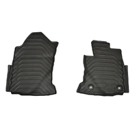 Genuine Toyota Fortuner Auto Front Rubber Floor Mats Aug 2015 On image